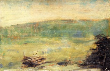 landscape at saint ouen 1879 Oil Paintings