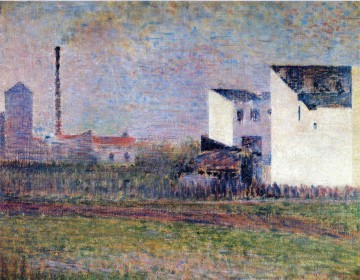 Georges Seurat Painting - suburb 1882