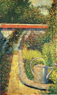 Georges Seurat Painting - the watering can 1883
