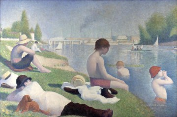 bathers at asni res 1884 Oil Paintings