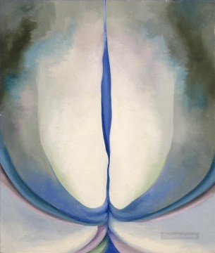 Blue Line Georgia Okeeffe American modernism Precisionism Oil Paintings