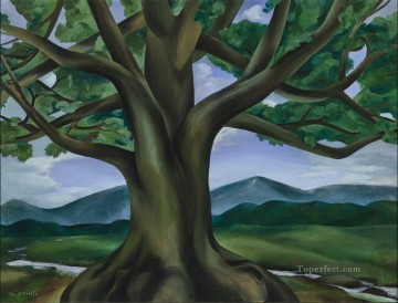 american - The Royal Oak of Tennessee Georgia Okeeffe American modernism Precisionism