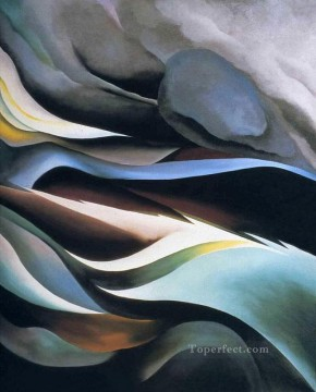 american - from the lake no 2 1924 Georgia Okeeffe American modernism Precisionism