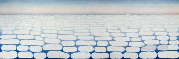 sky above clouds iv Georgia Okeeffe American modernism Precisionism Oil Paintings