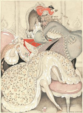 Gerda Wegener Painting - Behind the Mask Gerda Wegener