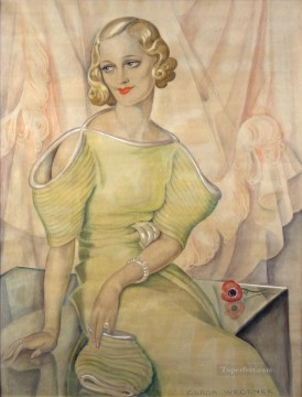 Danish Girl Eva Heramb Gerda Wegener Oil Paintings