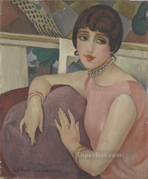 Danish Girl Lili 1922 Gerda Wegener Oil Paintings
