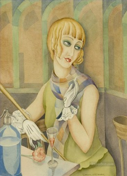 Danish Girl Lili Elbe Gerda Wegener Oil Paintings