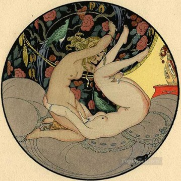 Oral Sex Lesbian Gerda Wegener Oil Paintings