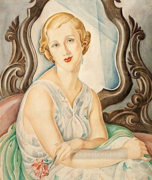Portrait of a Lady Gerda Wegener Oil Paintings