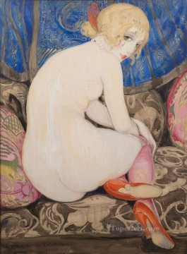 nude Gerda Wegener Oil Paintings