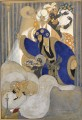 Pair of watercolour Gerda Wegener