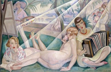 A Summer Day Gerda Wegener Oil Paintings