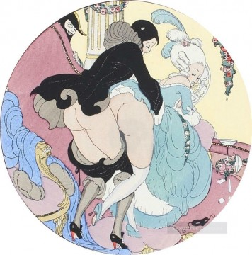 Gerda Wegener Painting - make love Gerda Wegener
