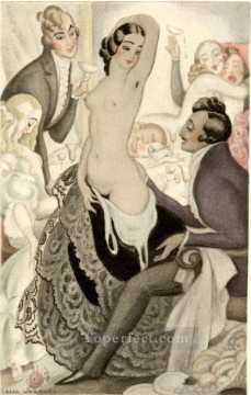 Gerda Wegener Painting - show me your body Gerda Wegener