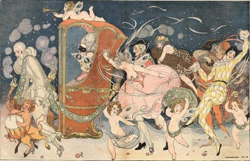 Gerda Wegener Painting - illustration Gerda Wegener