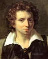 A Portrait Of A Young Man Romanticist Theodore Gericault
