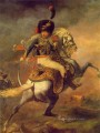 An Officer Charging MHA Romanticist Theodore Gericault