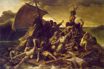 Theodore Gericault Painting - Raft of the medusa MHA Romanticist Theodore Gericault