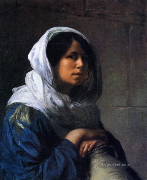 greek Painting - Egyptian Water Carrier Greek Arabian Orientalism Jean Leon Gerome