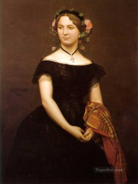 Portrait of Mlle Durand Jean Leon Gerome Oil Paintings