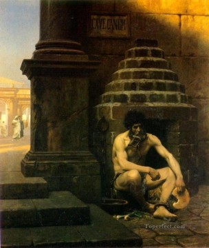 greek Painting - Cave Canem Greek Arabian Orientalism Jean Leon Gerome