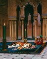The Grief of the Pasha Greek Arabian Orientalism Jean Leon Gerome