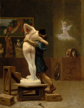 lion - Pygmalion And Galatea Greek Arabian Orientalism Jean Leon Gerome