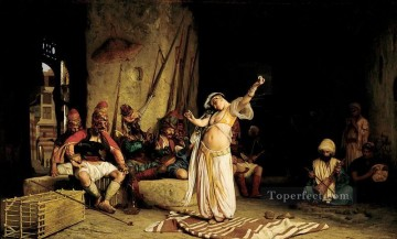 greek Painting - The Dance of the Almeh Greek Arabian Orientalism Jean Leon Gerome