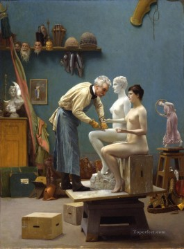 Working Works - Working in Marble Greek Arabian Orientalism Jean Leon Gerome
