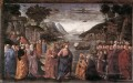 Calling Of The First Apostles Renaissance Florence Domenico Ghirlandaio