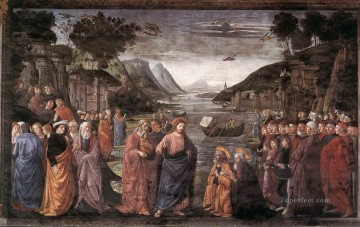 Apostle Art - Calling Of The First Apostles Renaissance Florence Domenico Ghirlandaio