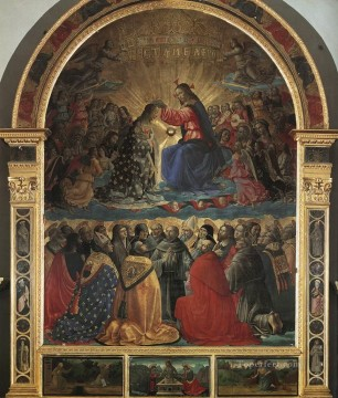 Coronation Of The Virgin Pic1 Renaissance Florence Domenico Ghirlandaio Oil Paintings