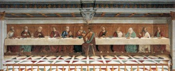 last supper Painting - Last Supper Renaissance Florence Domenico Ghirlandaio
