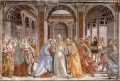 marriage Of Mary Renaissance Florence Domenico Ghirlandaio