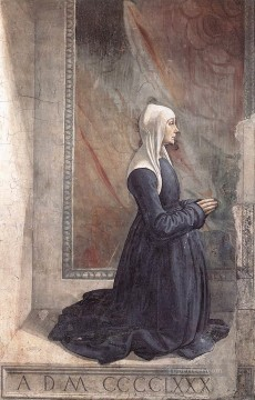Portrait Of The Donor Nera Corsi Sassetti Renaissance Florence Domenico Ghirlandaio Oil Paintings