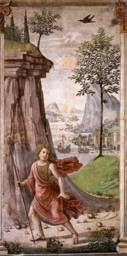 renaissance Painting - St John The Baptist In The Desert Renaissance Florence Domenico Ghirlandaio