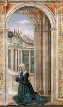 dome Art - Portrait Of The Donor Francesca Pitti Tornabuoni Renaissance Florence Domenico Ghirlandaio