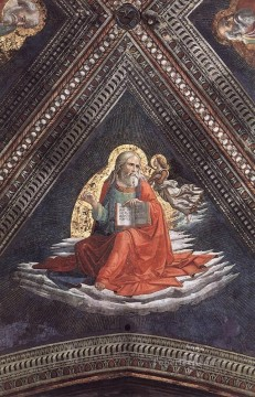 St Matthew The Evangelist Renaissance Florence Domenico Ghirlandaio Oil Paintings