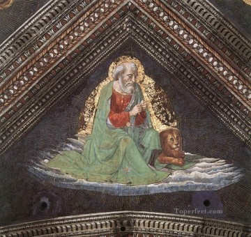 St mark The Evangelist Renaissance Florence Domenico Ghirlandaio Oil Paintings