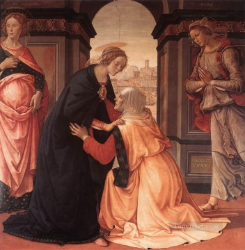 Visitation 1491 Renaissance Florence Domenico Ghirlandaio Oil Paintings