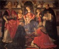 Madonna And Child Enthroned Between Angels And Saints Renaissance Florence Domenico Ghirlandaio