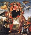 Madonna In Glory With Saints Renaissance Florence Domenico Ghirlandaio
