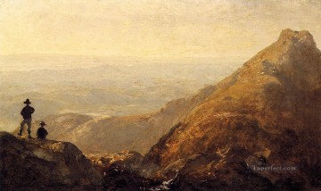 A Sketch of Mansfield Mountain scenery Sanford Robinson Gifford Decor Art