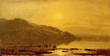 Mount Merino scenery Sanford Robinson Gifford Oil Paintings