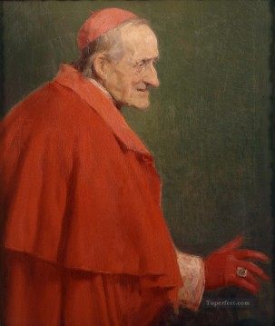 Jose Benlliure y Gil Painting - Cardenal romano Jose Benlliure y Gil