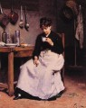 A Cup of Coffee genre Victor Gabriel Gilbert