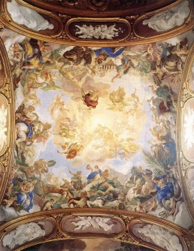 Luca Giordano Painting - Triumph Of Judith Baroque Luca Giordano
