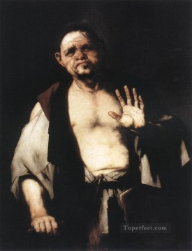 Tete Art - The Philosopher Cratetes Baroque Luca Giordano