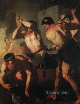 baroque - The Forge Of Vulcan Baroque Luca Giordano